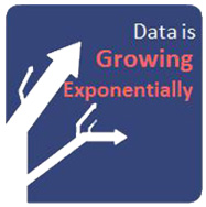 Data is Growing Exponentially